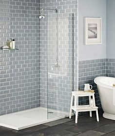Image result for grey and blue bathroom