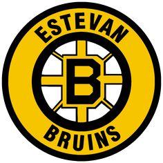 1957, Estevan Bruins (Estevan, Saskatchewan) Div: Viterra, Affinity Place #EstevanBruins #EstevanSaskatchewan #SJHL #Canada (L12320)