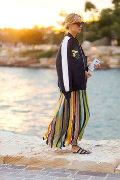 Diego Zuko is tracking the fashion set's best street style looks outside the Resort 2016 collections.