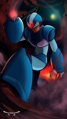 What if, Megaman X turns Maverick by Seonidas