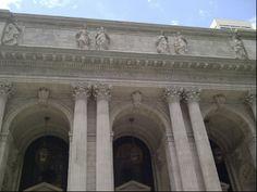 New York Library in New York, NY