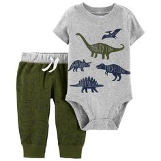 bba18b5e6 Carter's ''Mommy's Little Explorer'' Bodysuit Set - Baby | P. O. M. | Carters  baby boys, Carters baby, Baby