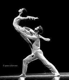 """yoiness:    Gene SchiavoneYuan Yuan Tan and Damian Smith, San Francisco Ballet """"After the Rain"""""""