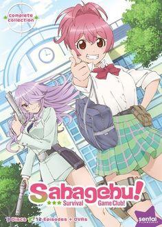 Sabagebu!: Survival Game Club - Complete Collection [3 Discs] [DVD]
