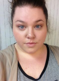 Earthy, Plus Size Makeup of the Day- Super simple!    theprettyplus.com