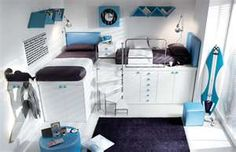 Cool modern teen bedroom