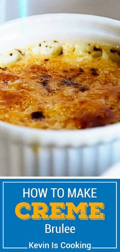 Learn how to make creme brulee with 4 simple ingredients! Make this recipe for a classic dessert that's both delicious and impressive. This is amazing and everyone always asks for the recipe! Easy Desserts, Delicious Desserts, Dessert Recipes, Candy Recipes, Dessert Ideas, Yummy Food, Mexican Food Recipes, Sweet Recipes, Brulee Recipe