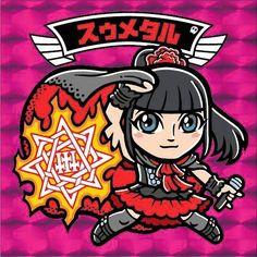 Beautiful Suzuka Nakamoto - Su-Metal art shared by our follower Yuya Shimizu!