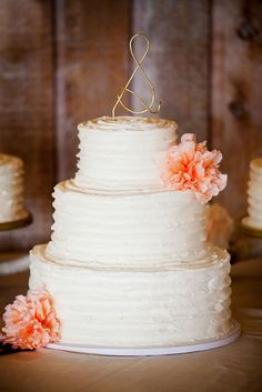 Our wedding cake by Main Thing Events. Chad & Victoria wedding 4/13/13