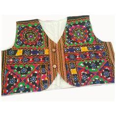 Rajasthani Embroidery Waist Size Jacket Stunning Jacket With Kutch Embroidery Patterns To Make ...