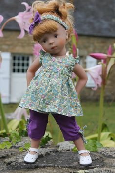 IMG_7379 Minouche doll by Sylvia Natterer auf blogg von Les Chéries de Vaniline