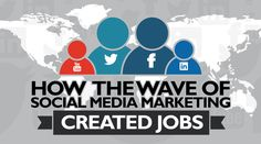 How the Wave of Social Media Marketing Created Jobs? Visit:  #marketing