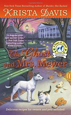The Ghost and Mrs. Mewer (A Paws and Claws Mystery) by Krista Davis http://www.amazon.com/dp/0425262561/ref=cm_sw_r_pi_dp_pPo9ub060N2JH
