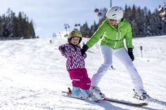 Skifahren am Kreischberg macht auch den Kleinen Spaß (c) Ikarus #kreischberg