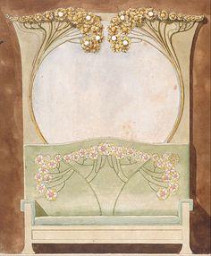 Gaspar Homar - Design for a bench
