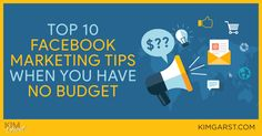 Great blog post at Kim Garst | Marketing Strategies that WORK : As a small business owner, CHEAP is great, but FREE is always best! This post will walk you through 10 free Facebook marketing tips and [..]