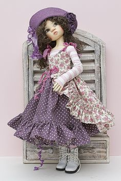 Kaye Wiggs Miki in Lililace by jeanoak, via Flickr