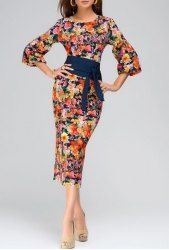 Print Dresses | Cheap Floral And Leopard Print Dresses For Women Online At Wholesale Prices | Sammydress.com