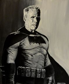 Thought this was really cool. Clint Eastwood as Batman. If Hollywood execs were smart, the next Batman flick would feature an older Batman, a la The Dark Knight Returns.