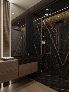 Washroom Design, Toilet Design, Bathroom Design Luxury, Modern Bathroom Design, Interior Design Photography, Home Interior Design, Interior Architecture, Modern Apartment Design, Dark Interiors
