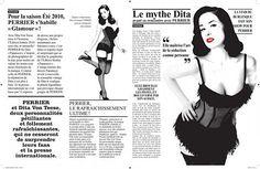 Dita von Teese x Perrier | ViaComIT
