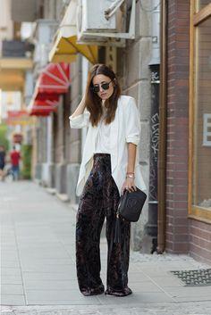 89d37c35d7 How Street Style Stars Wear Velvet