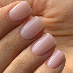 Pin on makeup / hair / nails - Nageldesign - Nail Art - Nagellack - Nail Polish - Nailart - Nails - baby boomer - Neutral Nails, Nude Nails, Acrylic Nails, Coffin Nails, Ten Nails, Nagellack Trends, Manicure Y Pedicure, Pedicure Colors, Manicure Ideas
