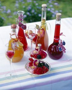 Como hacer licor de frutas