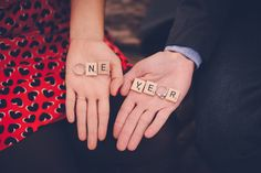 our first wedding anniversary photo by Alex & Cammy Photography