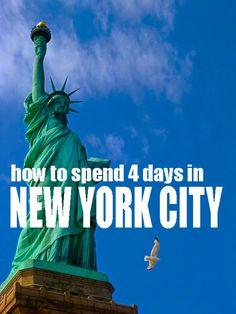How to Spend 4 Days in New York City || © Joyce Dekkers || Via @vegannomad