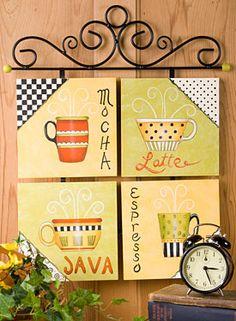 My Favorite Coffees free pattern download