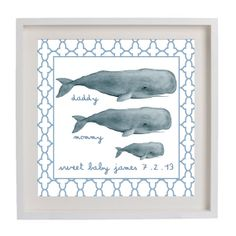 This would make an adorable baby announcement!      Shorely Chic Interiors