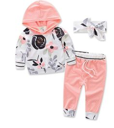 """FLORAL FALL SET PRICE $14.99 OPTIONS: 6/12M, 12/18M, 18/24M, 3T To purchase: comment """"sold"""", size & email"""