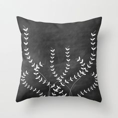 Ivy Throw Pillow Cover Decorative Pillow Home by bellesandghosts, $36.00