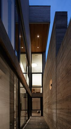 Great use of space- love the overhang, Moore Park Residence by Drew Mandel Architects