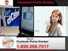 Why do lots of people dial at Facebook Phone number from anywhere? 1-850-266-7017  Yes, it's truly so. Lots of people dial at Facebook Phone number in order to get the reliable, instant, efficacious, and qualitative Facebook support. By which you can ask the below-mentioned query-resolutions: • Login/logout live support • Recuperate back the deleted Facebook messages • Recover back the spam links. To get more detail, you need to give a call at number 1-850-266-7017. For more visit us our…