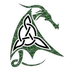 Celtic Tattoo or Celts is old classic art from Ireland. Celtic T. Celtic Dragon Tattoos, Dragon Tattoo Designs, Celtic Symbols, Celtic Art, Celtic Knots, Arrow Tattoo, Irish Tattoos, Irish Design, Dragon Art
