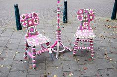 Granny chairs par Maluca à Carnisse Veste_Nederland