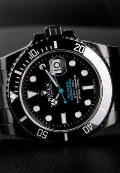 Customized Rolex Submariner | Blaken