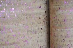 Natural cork fabric with fuchsia. Cork Fabric, Textiles, Sewing, Natural, How To Make, Color, Dressmaking, Couture, Stitching