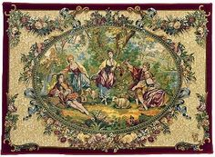 Tapestries, The History of Tapestry Weaving
