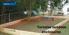 How to build an outdoor tortoise enclosure - ExoticDirect Tortoise House, Tortoise Habitat, Tortoise Table, Turtle Habitat, Turtle Enclosure, Reptile Enclosure, Tortoise Enclosure Indoor, Turtle Terrarium, Sulcata Tortoise