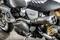 Bullet Time - Alo's Cafe Thruxton R ~ Return of the Cafe Racers
