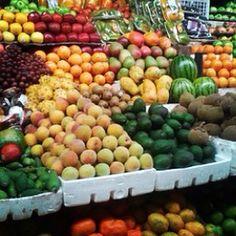 Plaza , frutas frescas.