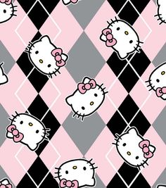 Licensed Cotton Fabric-Hello Kitty Preppy for girls pj's Hello Kitty Iphone Wallpaper, Hello Kitty Backgrounds, Sanrio Wallpaper, Kawaii Wallpaper, Iphone Backgrounds, Sanrio Hello Kitty, Zebras, Hello Kitty Pictures, Backgrounds