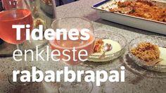 Rabarbra smuldrepai - NRK Mat – Oppskrifter og inspirasjon