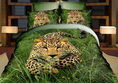 3D Bedding sets Petals Duvet cover sets Queen size include duvet cover/bed sheet/pillow cases Wolf & Animals
