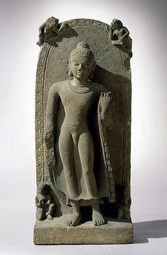 Standing Buddha. India, Gupta period, late 5th century.