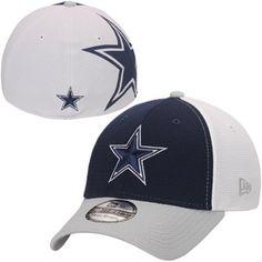 New Era Dallas Cowboys Navy Blue Logo Stretch 39THIRTY Flex Hat 586b30bd5