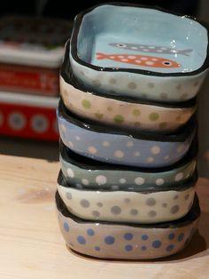 Les sardines,  by Atelier Polkadot Ceramics